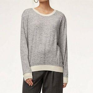Aritzia Wilfred Crew Neck Pullover Sweater XXS
